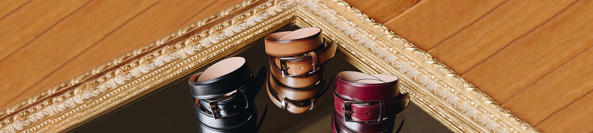 Leather goods for men - Emling belts