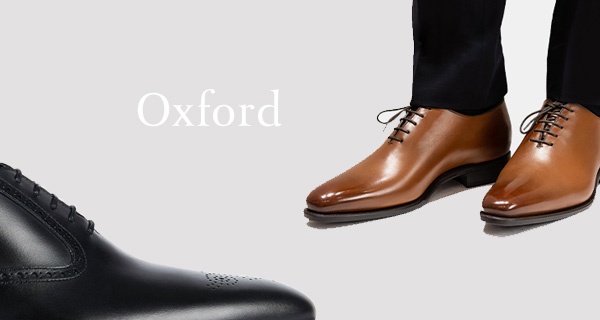 The great essential of men's footwear - The Oxford by Emling