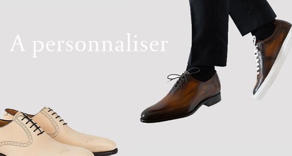 Une paire de chaussures vraiment unique - La patine personnalisée Emling