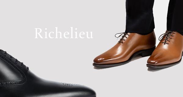 Le grand classique de la chaussure pour homme - Le Richelieu par Emling
