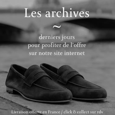 Derniers jours pour vous laissez tenter par nos archives ! Des prix inédits sur une sélection de richelieus, derbies et sneakers. Ne tardez plus, foncez sur l'eshop, la livraison est offerte en France métropolitaine et le click and collect est possible sur rendez-vous. Offre valable jusqu'au 18 avril 2021.  #emling #menstyle #stylishmenswear #elegant #elegantshoes #leathershoesmen #dandyshoes #bestofmenstyle #classicshoes #menshoes #chaussures #souliers #urbanstyle
