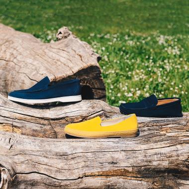Espadrille, mocassin ou driving loafer? N'hésitez plus et craquez pour les trois.  Rendez-vous sur l'eshop et en boutiques pour profiter de nos SOLDES.   #emling #menstyle #stylishmenswear #elegant #elegantshoes #leathershoesmen #dandyshoes #bestofmenstyle #classicshoes #menshoes #chaussures #souliers #urbanstyle